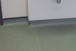 Coved Vinyl Flooring
