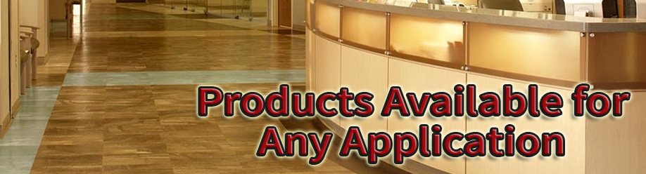 Commercial Carpets Nottingham - Products available for any application