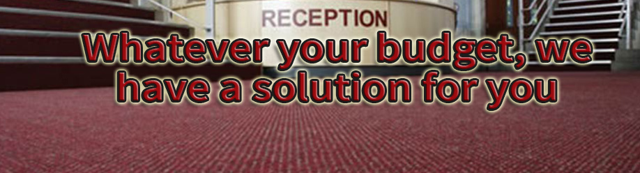 Commercial Carpets Nottingham - Whatever your budget, we have a solution for you